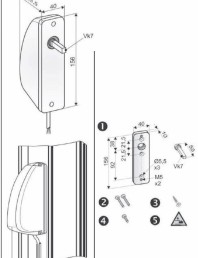 Sistem inlocuire maner actionare ferestre