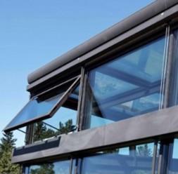 Sisteme pentru desfumare si ventilare pereti cortina UNILUX
