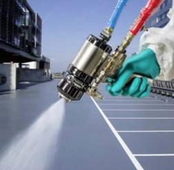 Hidroizolatii lichide si impermeabilizari pentru acoperisuri - MasterSeal Roof  MasterSeal Roof 2103 este unul dintre sistemele oferite de BASF pentru hidroizolarea lichida si impermeabilizarea acoperisurilor.