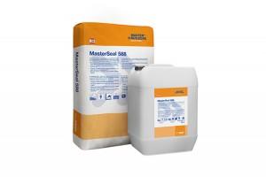 Pelicule hidroizolante MasterSeal 560 este o membrana bicomponenta, pe baza de ciment, elastica si flexibila, usoara, cu intarire rapida pentru impermeabilizarea si protejarea betonului.