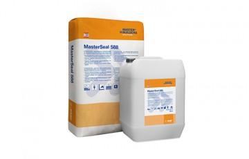 Pelicule hidroizolante pentru beton sau zidarie MasterSeal 560 este o membrana bicomponenta, pe baza de ciment, elastica si flexibila, usoara, cu intarire rapida pentru impermeabilizarea si protejarea betonului.