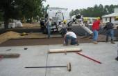 Agregate pentru pavaje si pavele drenante  BASF propune o rezolvare simpla si eficienta in realizarea pavajelor pentru alei de incinta, parcaje, platforme, trotuare si chiar pentru strazi, utilizand pavajul drenat cu agregate din pietris.