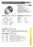 Pisoar din otel inox cu robinet de spalare automat SANELA - SLPN 09C SLPN 09CB SLPN