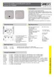 Robinet de spalare automata pentru grup de pisoare SANELA - SLP 05N, SLP 05NZ