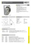 Pisoar din otel inox cu senzor SANELA - SLPN 07C, SLPN 07CB, SLPN 07CZ