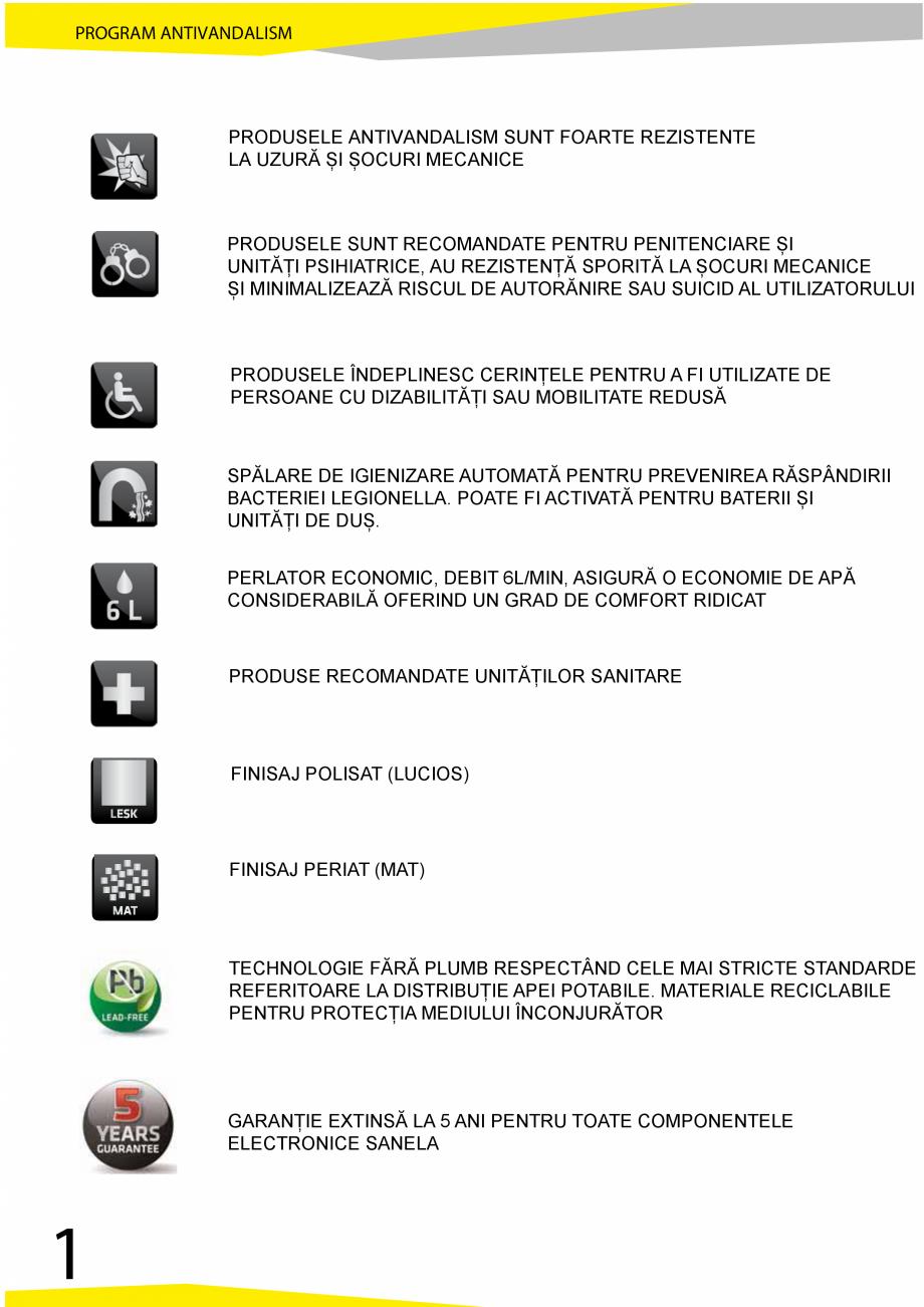 Pagina 2 - Catalog produse antivandalism SANELA SLD 04, SLR 01, SLR 01L, SLR 01R, SLR 02, SLR 02D,...