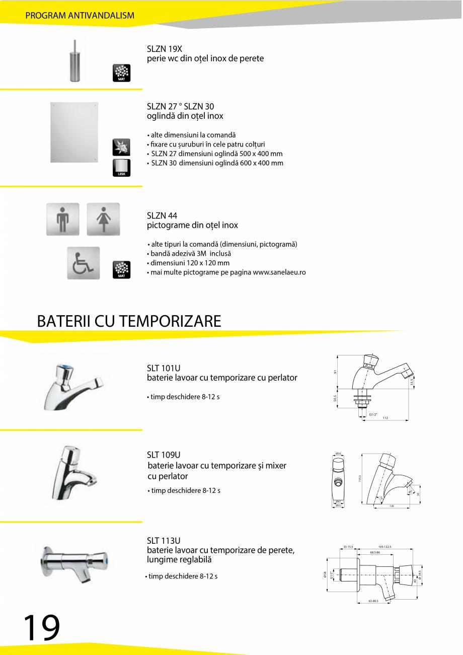 Pagina 20 - Catalog produse antivandalism SANELA SLD 04, SLR 01, SLR 01L, SLR 01R, SLR 02, SLR 02D, ...
