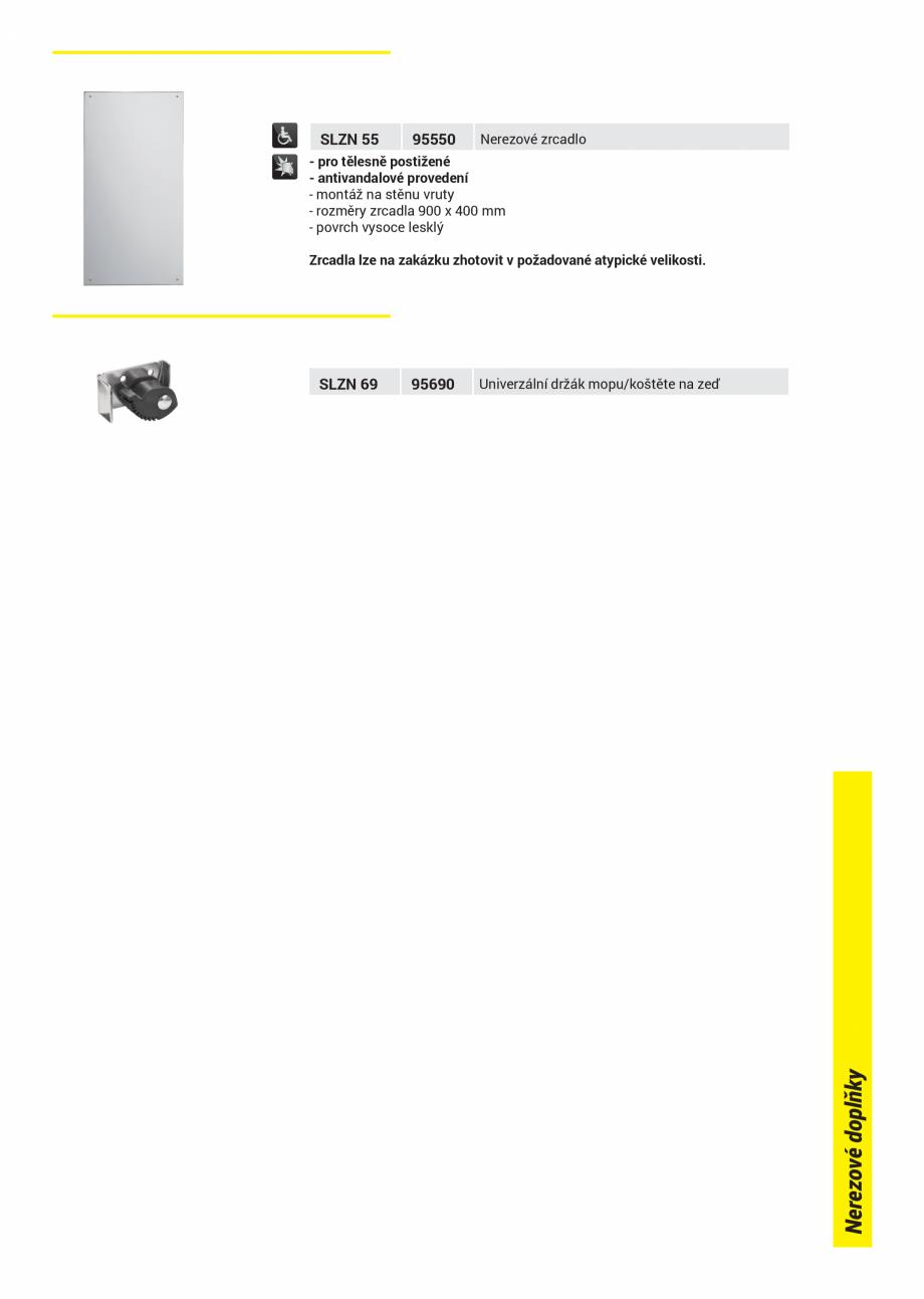 Pagina 3 - Dispensere hartie igienica SANELA SLZN 01, SLZN 09, SLZN 26, SLZN 26Z, SLZN 26Z , SLZN 37...