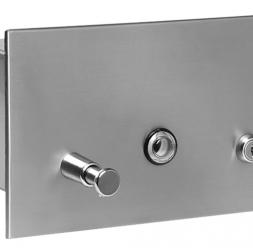 Accesorii din otel inox si plastic pentru bai si grupuri sanitare SANELA