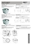 Vase WC din otel inox SANELA - SLWN 17 , SLWN 19
