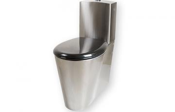 Toalete din otel inox Toaletele din otel inoxoferite de SANELA sunt disponibile in mai multe variante: vas wc suspendat, stativ si turcesc.Vasele wc din otel inox oferite de SANELA sunt destinate spatiilor publice cu risc de vandalizare.