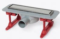 Rigole de dus din inox KESSEL va ofera o gama variata de rigole de dus: cu capac invizibil, drept din inox. Rigolele vin intr-un pachet complet, gata de montaj.
