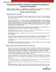 Prescriptii de ambalare, transport, manipulare si depozitare a produselor Porotherm POROTHERM