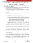 Instructiuni de punere in opera - produse Porotherm POROTHERM
