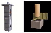 Sistem complet de cos de fum ceramic POROTHERM