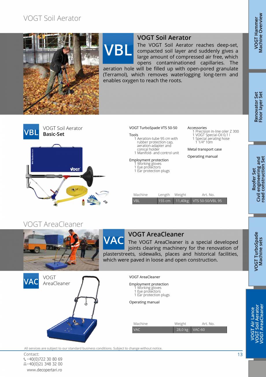 Pagina 13 - Catalog produse VOGT 2015 VOGT Catalog, brosura Engleza Eye protectors 1 Ear protection ...