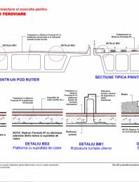 Fisa B1 cu detalii de proiectare si executie pentru poduri rutiere si feroviare