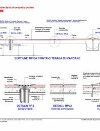 Fisa R3 cu detalii de proiectare si executie pentru terasa cu parcare
