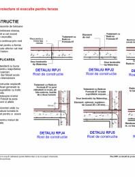 Fisa RD cu detalii de proiectare si executie pentru terase