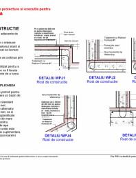 Fisa WD1 cu detaliile de proiectare si executie pentru rezervoare de apa