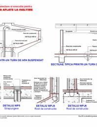 Fisa W2 cu detalii de proiectare si executie pentru rezervoare de apa aflate la inaltime