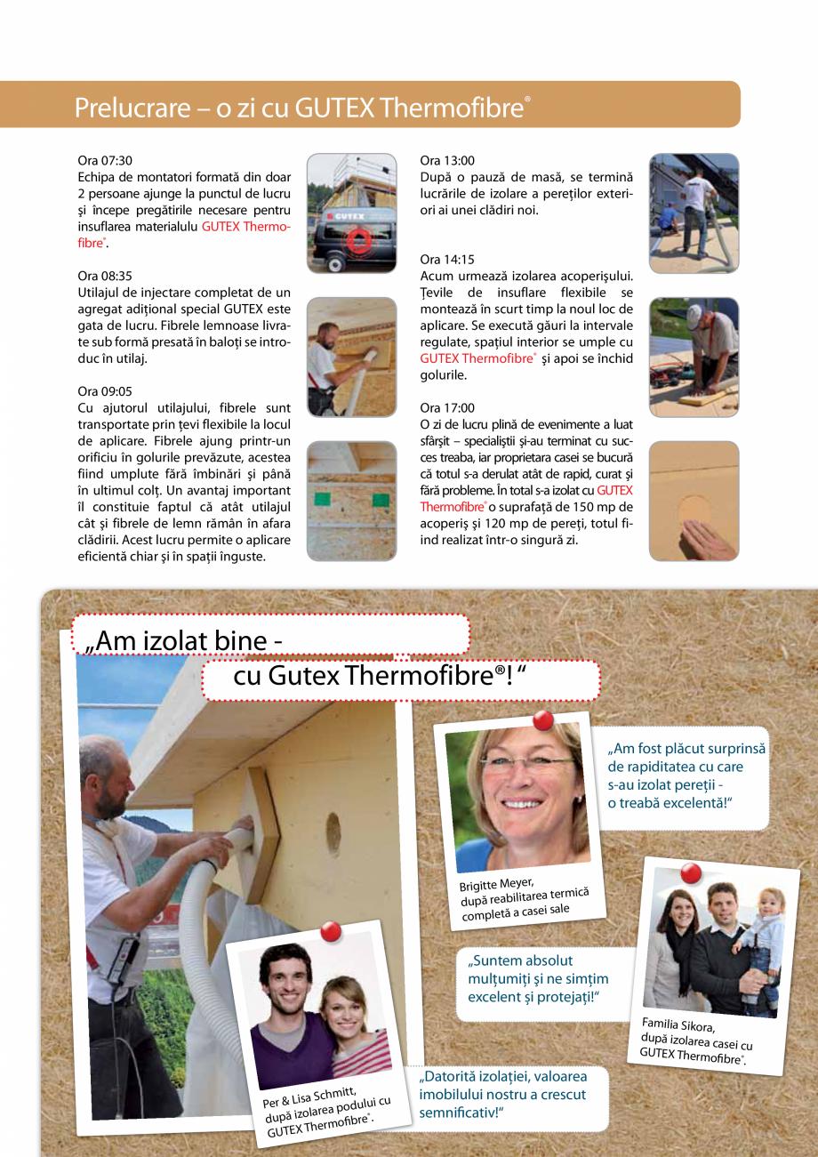 Pagina 3 - Izolare ecologica si inteligenta - Izolare prin suflarea fibrelor lemnoase GUTEX...