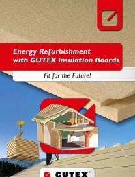 Renovarea energetica a cladirilor cu placi din fibre lemnoase Gutex
