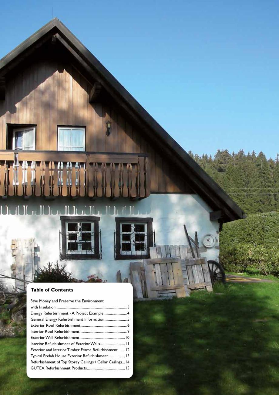 Pagina 2 - Renovarea energetica a cladirilor cu placi din fibre lemnoase Gutex GUTEX Multiplex-top, ...