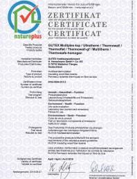 Certificat de calitate natureplus