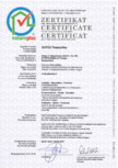 Certificat de calitate natureplus GUTEX - Thermoflex