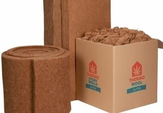 Termoizolatie naturala din fibre de iuta THERMO JUTE