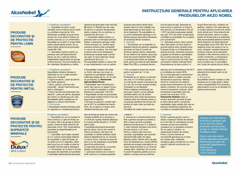Pagina 5 - Solutii pentru ideile tale HAMMERITE EMAIL - Lucios, EMAIL - Lovitura de ciocan, EMAIL - ...