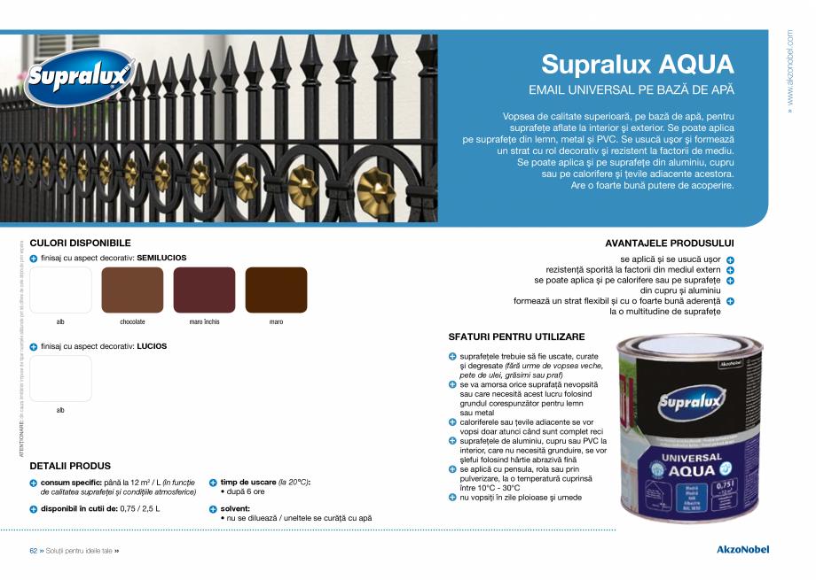 Pagina 33 - Solutii pentru ideile tale HAMMERITE EMAIL - Lucios, EMAIL - Lovitura de ciocan, EMAIL -...