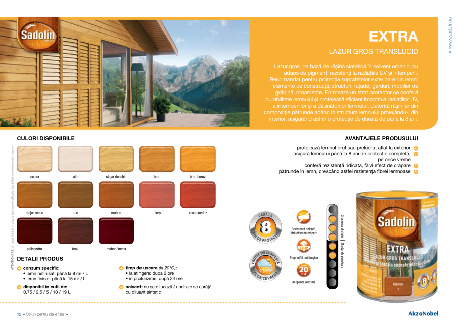Pagina 8 - Solutii pentru ideile tale - Catalog complet 2018  DULUX Easy Smooth, Quick Set Cement...