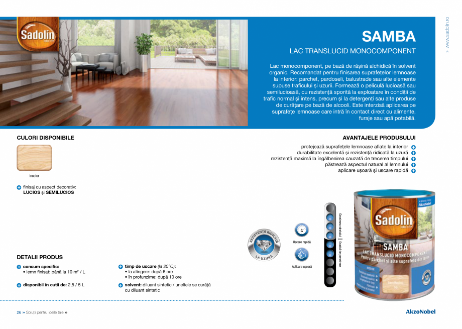 Pagina 15 - Solutii pentru ideile tale - Catalog complet 2018  DULUX Easy Smooth, Quick Set Cement...