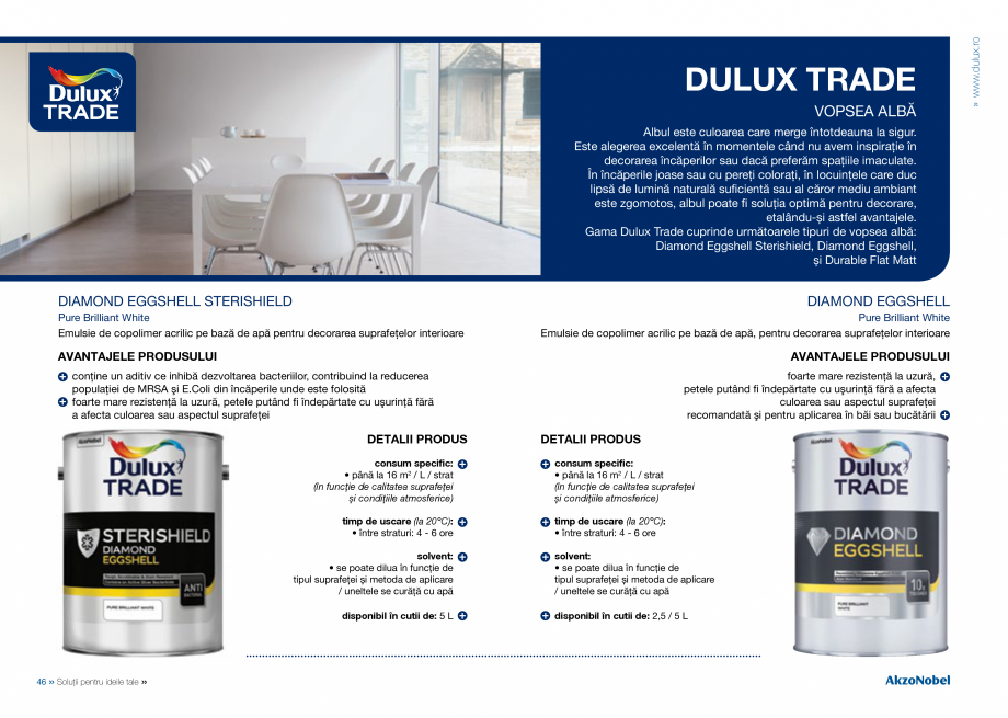 Pagina 25 - Solutii pentru ideile tale - Catalog complet 2018  DULUX Easy Smooth, Quick Set Cement...