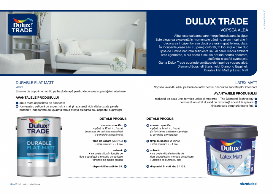 Pagina 26 - Solutii pentru ideile tale - Catalog complet 2018  DULUX Easy Smooth, Quick Set Cement...