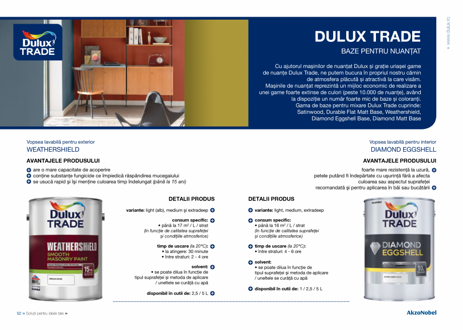 Pagina 28 - Solutii pentru ideile tale - Catalog complet 2018  DULUX Easy Smooth, Quick Set Cement...
