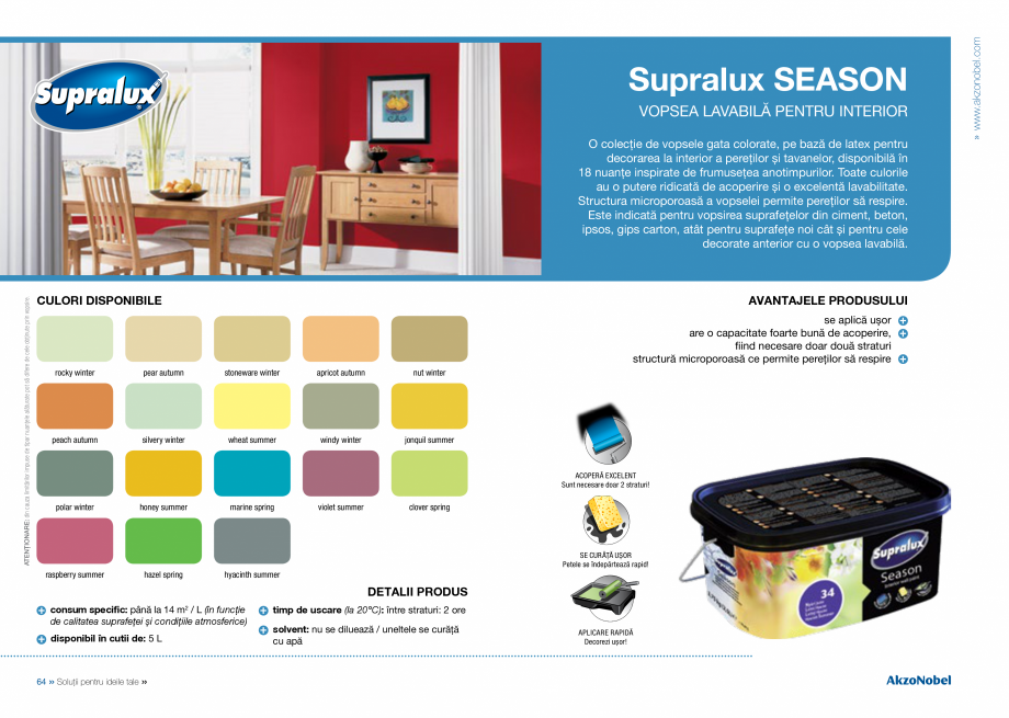 Pagina 34 - Solutii pentru ideile tale - Catalog complet 2018  DULUX Easy Smooth, Quick Set Cement...