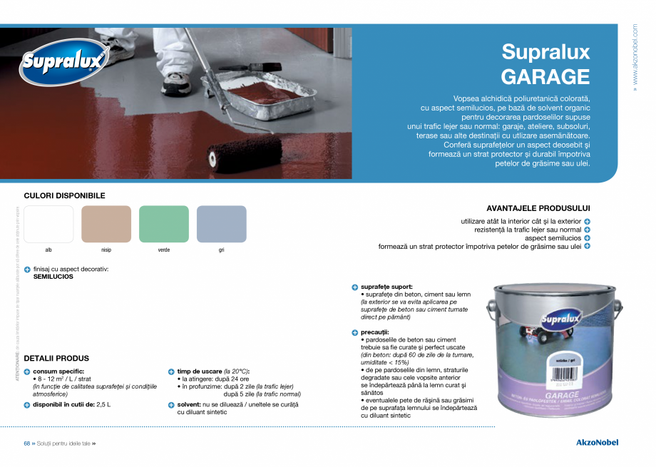 Pagina 36 - Solutii pentru ideile tale - Catalog complet 2018  DULUX Easy Smooth, Quick Set Cement...