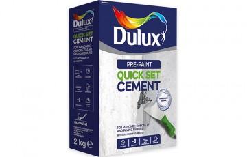 Chit de reparatii pe baza de ciment Akzo Nobel Coatings prezinta gama Dulux Pre-Paint: Chituri pe baza de ciment pentru reparatii rapide ale fisurilor in pereti de interior.