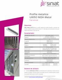 Profil metalic din tabla zincata