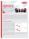 Echipament sudura cu electrozi SEI FRONIUS - TransPocket 150, TransPocket 180