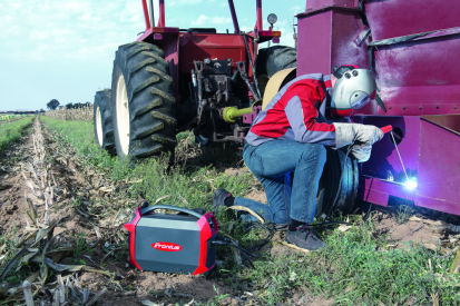 Echipamentul de sudura AccuPocket utilizat in agricultura AccuPocket 150/400 Echipament sudura cu electrozi