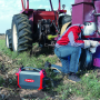 Echipamentul de sudura AccuPocket utilizat in agricultura