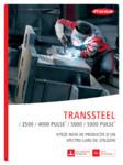 Echipament sudura MIG/MAG FRONIUS - TransSteel 4000 Pulse, TransSteel 5000 Pulse