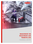 Aparate de sudura WIG FRONIUS - MagicWave 190, TransTig 230i, MagicWave 230i