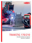 Aparat de sudura WIG FRONIUS - TransTig 170, TransTig 210