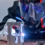Detaliu utilizare echipament de sudura TransTig170