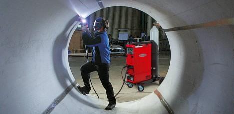 Exemplu de utilizare a echipamentul de sudura Magic Wave 4000 FRONIUS - Poza 1
